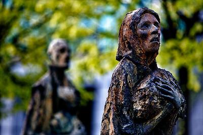 The Famine Memorial (2)