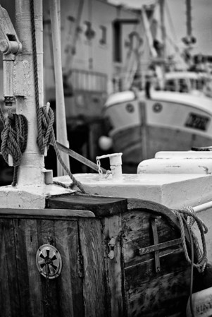 Fishing boats, Bleik.