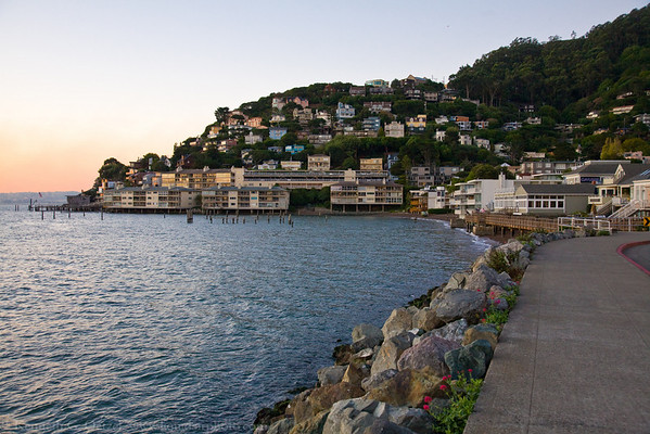 Sausalito waterfront.
