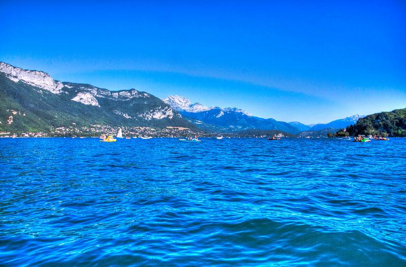 Annecy - Haute Savoie - France<br /> Le lac