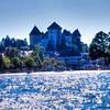 Annecy - Haute Savoie - France<br /> Le lac - le château d'Annecy