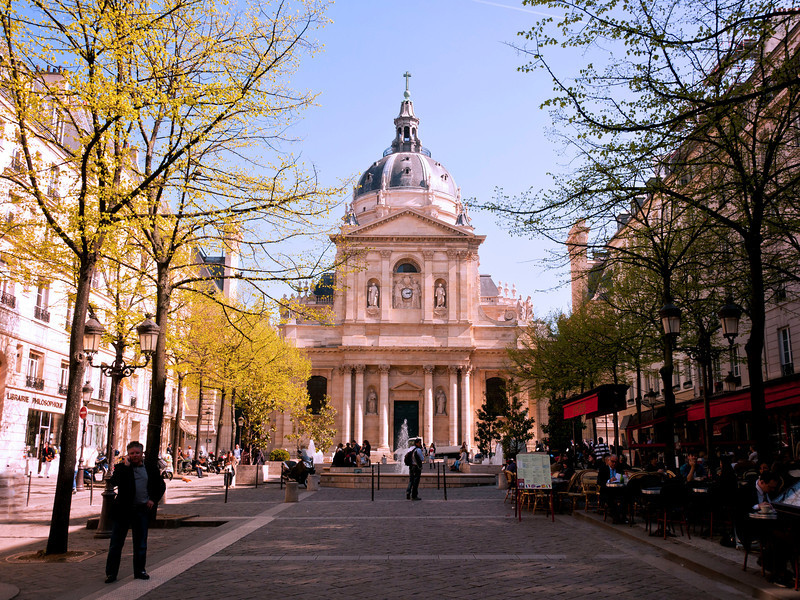 THE SORBONNE, NOT EMORY