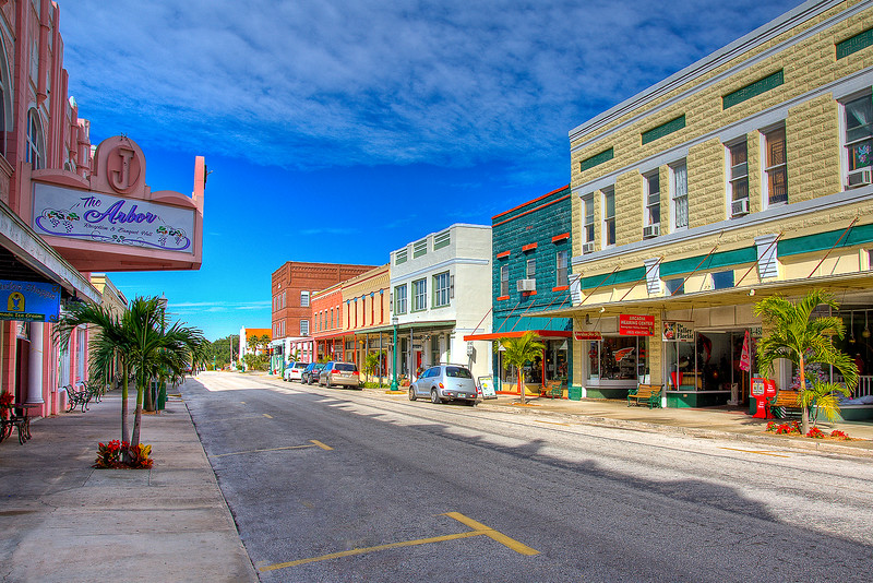 Oak Street Arcadia Florida 2009