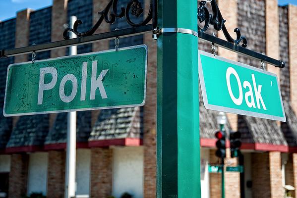 Polk & Oak Streets, Arcadia Florida