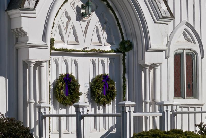 Bedford Presbyterian Church Advent Wreaths
