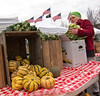 Mead Orchards farm stand at Pleasantville Farmer's Market