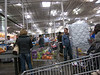 Waiting in Line - Costco Warehouse
