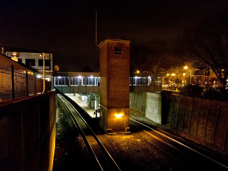 Pleasantville, NY Metro North Train Station -December 30, 2011