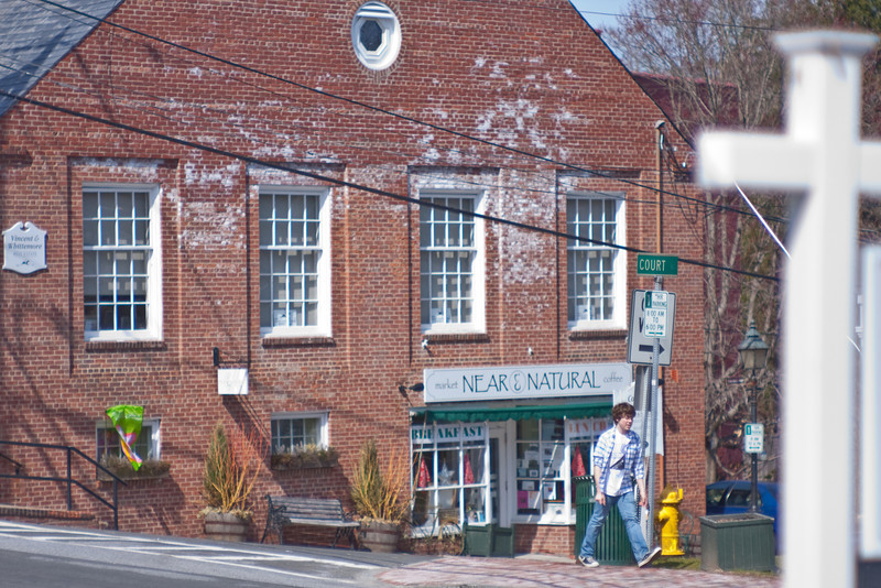 Bedford Village, NY - Court Street & Natural Foods Store