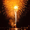 Fireworks on Lake Oswego, Oregon