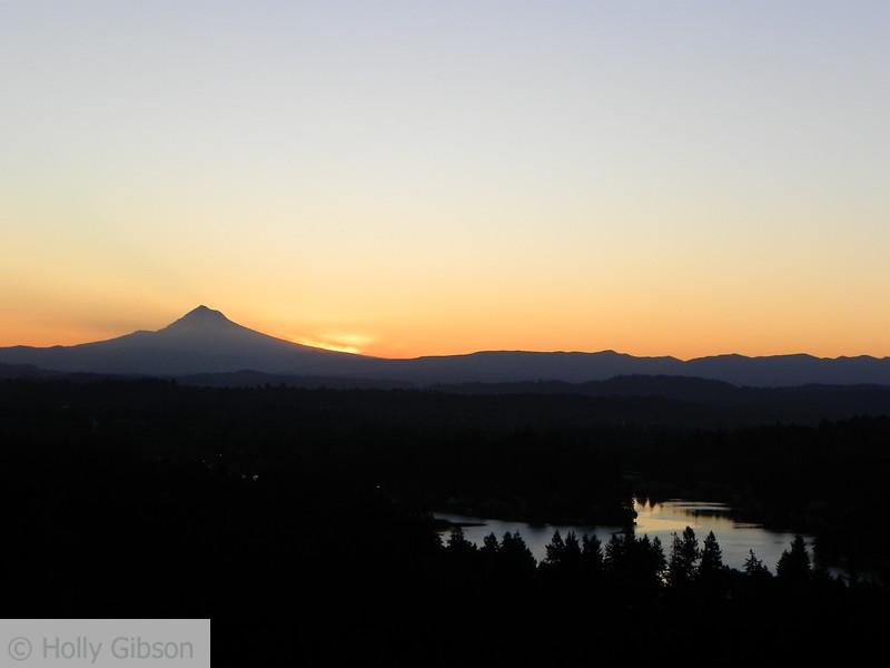 Mt. Hood at dawn
