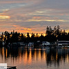 Oswego Lake at sunset
