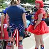 Patriotic butt.