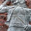 AC/DC Lane in city.