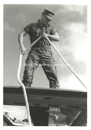 FA Marine with rope