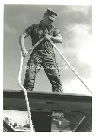 FA Marine with rope