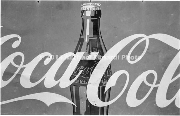 Coke Bottle B&W