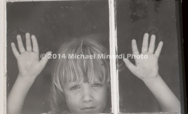 Sean McDavitt at Window B&W