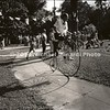 Old Bike Tampa 1976 B&W