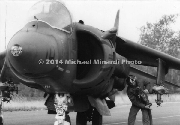 USMC Harrier Jet