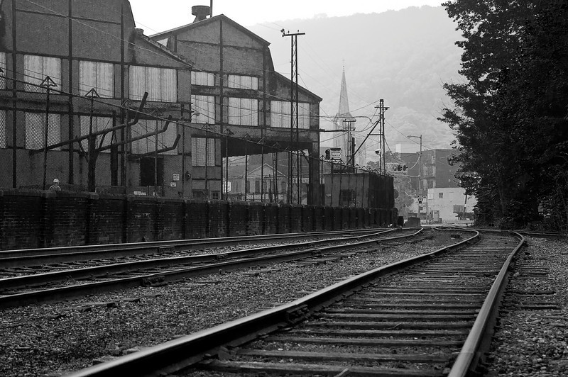 In the 1860s, Johnstown, Pennsylvania produced more iron and steel than Pittsburgh and Cleveland; the works here covered over 60 acres at their peak.