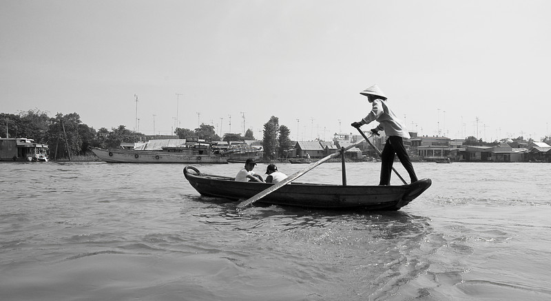 Family travel on the Mekong Delta (See Travel>Vietnam>On the Mekong.)