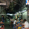 Bangkok life, dining out in back street of Bangkok. Thailand.