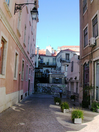 Barrio Alta, Lisbon, Portugal