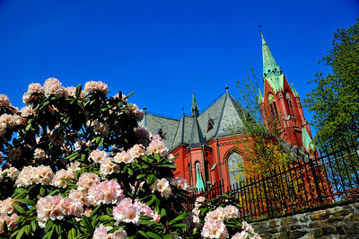 Den røde kirke...eller Johanneskirken....