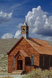 Church at Bodie