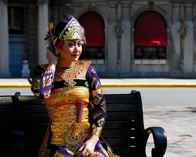 Gamelan Dancer.