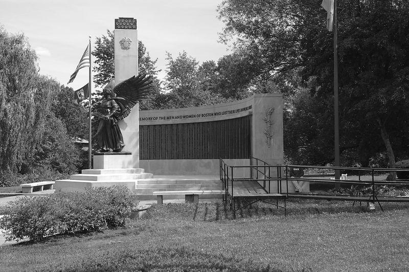 Back Bay Fens<br/> War Monument (1)