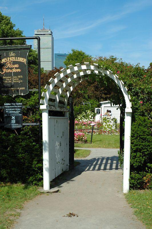 Back Bay Fens<br/> Rose Garden (1)