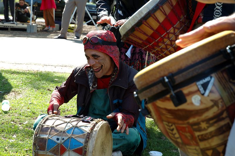 Mayfire Arts Festival<br/> Happy Drummin'.