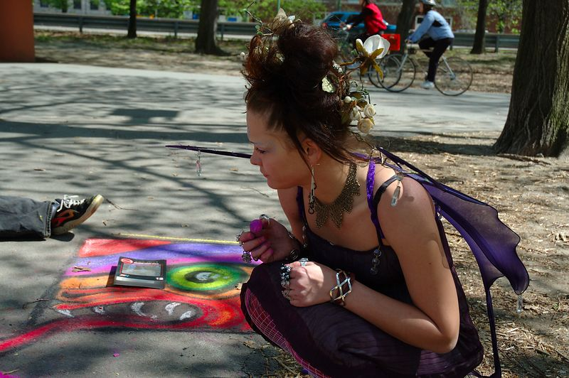 Mayfire Arts Festival<br/> Butterfly Girl.