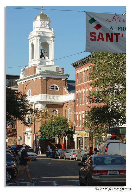 Hanover Street<br/> Saint Stephen's Church