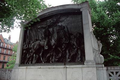 Monument for the Massachusetts 54th Regiment