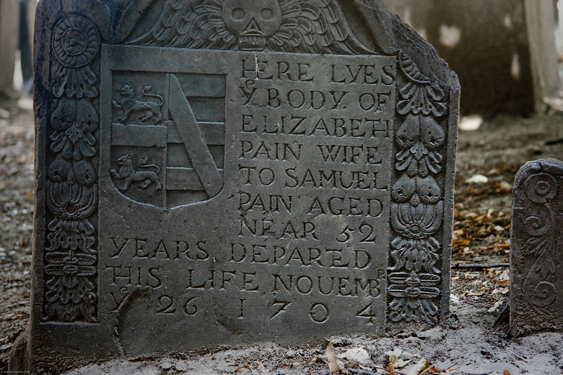 Grave of Elizabeth Pain