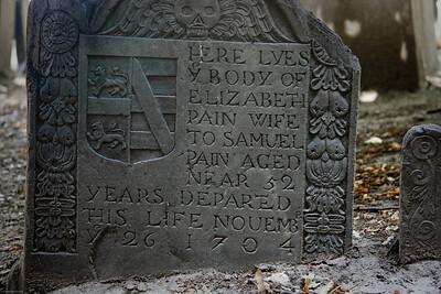 Grave of Elizabeth Pain