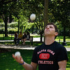 Juggler in Boston Gardens