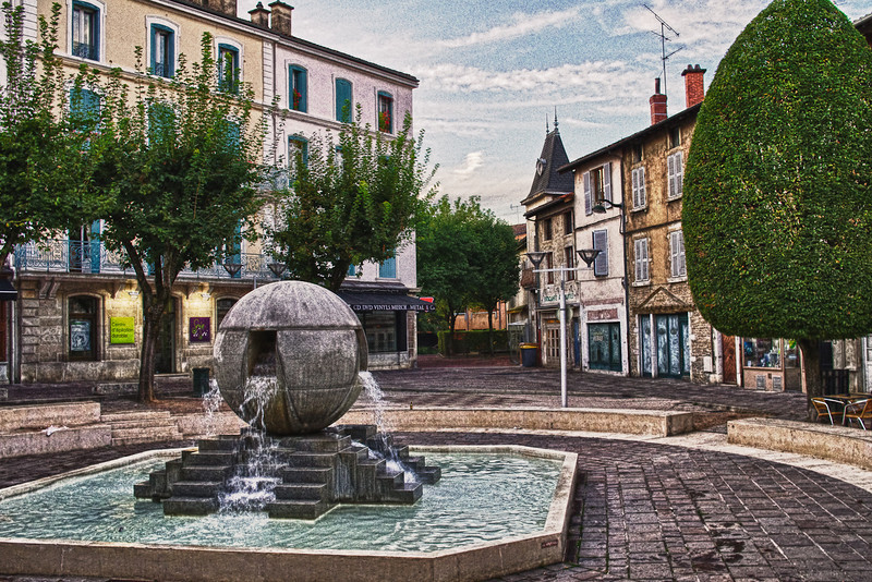 Place Edgar Quinet - Bourg en Bresse (France)