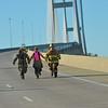 2016 Southeast Georgia Health System Bridge Run over the Sidney Lanier Bridge in Brunswick, Georgia D700 02-13-16