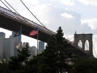 Brooklyn Bridge and DUMBO