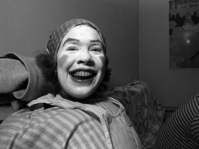 Clown Face Providence, RI (1980)