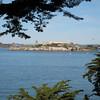 Alcatraz, as seen from Fisherman's Wharf.