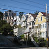Pretty houses and steep roads: classic San Francisco.