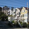 Pretty houses and steep roads: classic San Francisco.