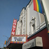 The Castro Theatre was beautifully repainted so that it could be featured in the movie Milk, which was shot entirely on location.