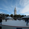 Well, it's got to *feel* like winter, doesn't it?  Skating rink outside the Ferry Building.
