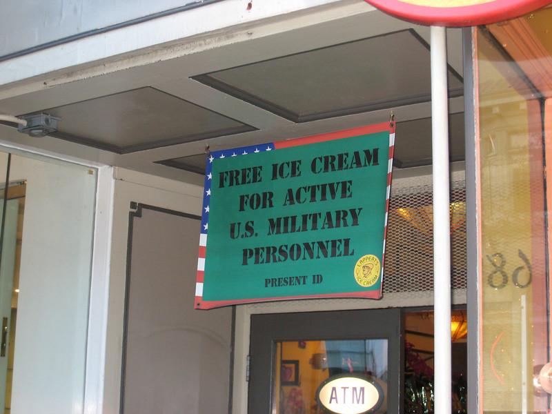 Interesting sign in Sausalito.